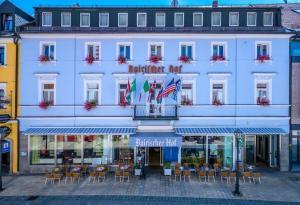 3 hvězdičkový hotel Hotel Bairischer Hof Marktredwitz Německo