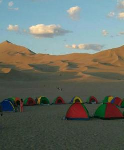 Dunhuang Han and Tang Dynasty Campsite