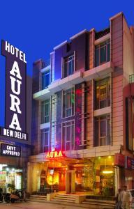Hotel Aura, Отели  Нью-Дели - big - 136