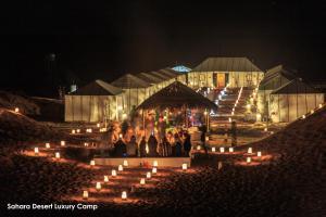 Sahara Desert Luxury Camp
