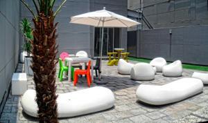 Puerta Alameda Suites, Apartmány  Mexiko - big - 16