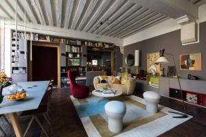 Apartamento Veeve - Beautiful Loft on Rue Quincampoix