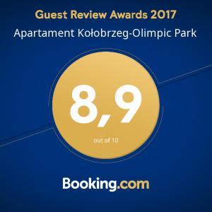 Apartament Kołobrzeg-Olimpic Park 100m od Plaży