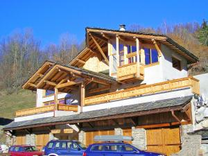 Comfortable Chalet in Peisey-Nancroix with Balcony - Hotel - Peisey-Vallandry
