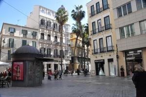 Plaza de Félix Sáenz City Center, Apartmány  Malaga - big - 10