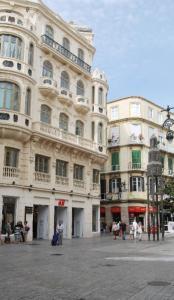 Plaza de Félix Sáenz City Center, Apartmány  Malaga - big - 40