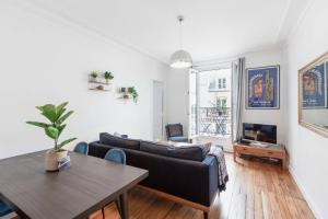 Charming flat with balcony near Ternes for 4p