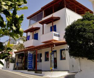 Idroussa Andros Greece