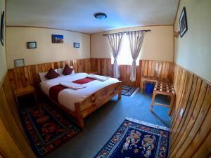 Panorama Lodge and Restaurant, Chaty v prírode  Nāmche Bāzār - big - 2