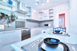 Apartments at Nagornaya with the Big Kitchen