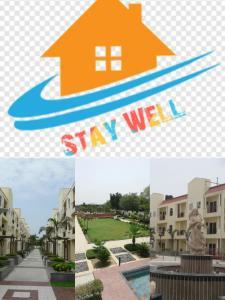 . Stay Well Apartments@Ganpati Infinity, Chatikara, Vrindavan