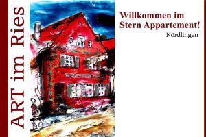 Ferienwohnung Art im Ries - Goldener Stern - Amerdingen