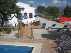 LA CASITA DEL GARROBO - swimming pool PRIVATE - Comares