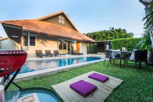 AnB Poolvilla Grand Modern 3BR Jomtien for 10pax - Ban Nong Hin