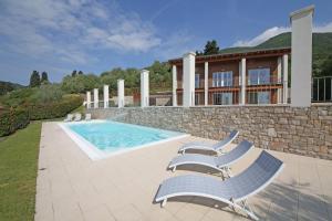 Villa Albachiara, Private Luxury villa with private pool and lake view, Villák - Gardone Riviera