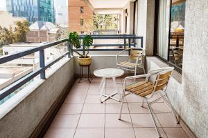 Tempo Rent Apart Hotel, Residence  Santiago - big - 5