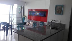 Morros City - Frente al mar, Apartmány  Cartagena - big - 53