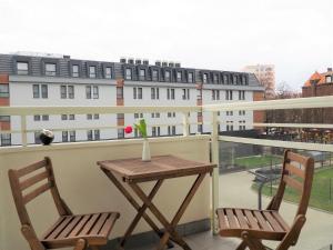 Apartament 3 pokoje parking balkon Gdańsk Centrum