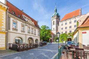 3 hvězdičkový apartmán Hotel U Rytíře Mělník Česko