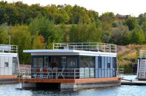 Hausboot Treibholz - [#117355] - Bad Lauchstädt