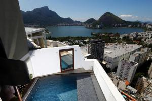 Rio004-Breathtaking penthouse in Leblon with private pool and stunning views - Río de Janeiro