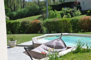 Maison avec piscine 8 couchages entre Annecy et Aix les bains - Hotel - Rumilly