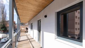 Central Comfort Suites, Apartmanok  Brassó - big - 22