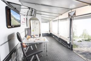 Mietwohnwagen A am Kransburger See - Dorum
