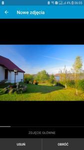 Mazury domek w Wilnowie jezioro Narie