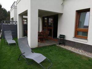 Apartament z ogródkiem