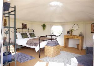 Location gîte, chambres d'hotes Yurt at Le Ranch Camping dans le département Corrèze 19