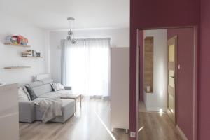 Dwupokojowy apartament z widokiem Wilanów