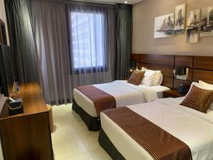 Q Suites Jeddah by EWA, Hotely  Džidda - big - 47