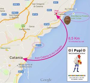 Pupi Catania Etna B&B, Bed & Breakfast  Aci Castello - big - 21