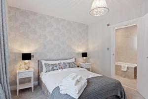 Stylish and Modern 2 Bed apt in Queens Park, Apartmány  Londýn - big - 53