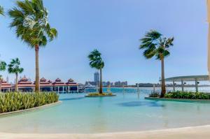 Luxury Living Suite - See und Burj AlArab Blick mit privatem Strand & Pool - Dubai