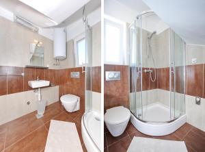 Apartments Vila Moli, Apartments  Bibinje - big - 16