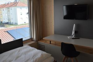 City Studios Warum ins Hotel, Apartmanhotelek  Heilbronn - big - 22