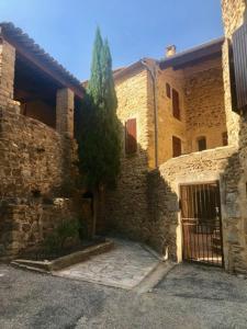 Maison de village 14 siecle - La Capelle-et-Masmolène