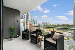 Melbourne Luxury Apartment, Apartmanok  Melbourne - big - 9