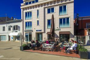 3 hviezdičkový apartmán Apartments Riva-Interauto Umag Chorvátsko