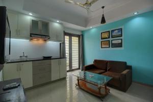 Compact Home Studio near White Town, Pondicherry, Apartmány  Marmagao - big - 17