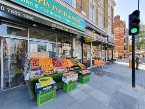 Stylish garden apartment Nr High Street Kensington, Ferienwohnungen  London - big - 9