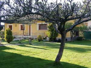 Chalet Riaza con jardin