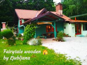 Fairytale Wooden House