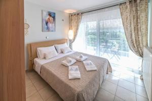 Corinthian Gulf beachfront lux flat