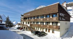 Hotel Les Flocons, Hotely  Les Deux Alpes - big - 16