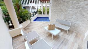 Aldea Thai 1101 Studio, Apartments  Playa del Carmen - big - 12