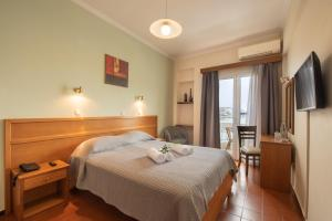 Double or Twin Room with Sea View Lesvion Hotel