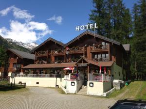 Hotel Alpenhof, Hotely  Oberwald - big - 29